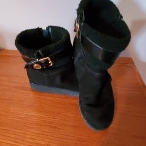 Marc Fisher ankle winter boots